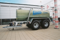 Fiberglass tank containers for slurry